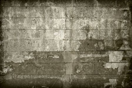 Surface of the old, brown wall covered with boards Stock Photo - 5218947
