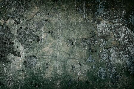 Dark concrete painted old wall frame photo