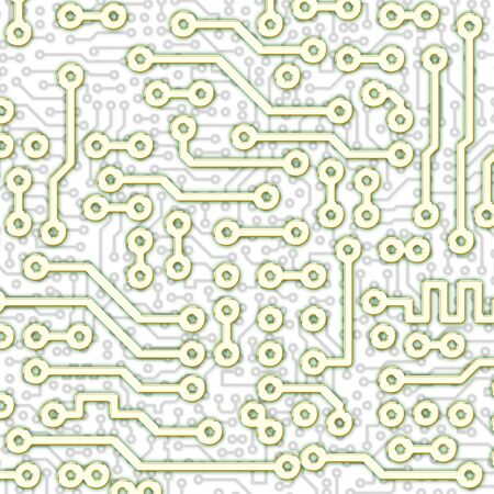 Abstract square graphical circuit board light pattern Stock Photo - 6536551