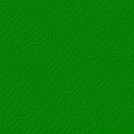 soldering: Illustration - square circuit board electronic green texture