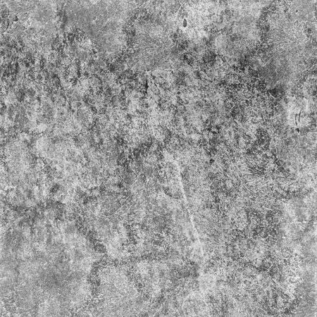 Seamless texture of dirty gray concrete wall with spots photo