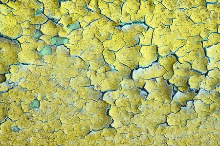 Background - old dirty wall covered with peeling paint Stock Photo - 6677735
