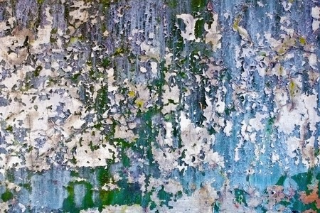plaster mould: Completely peeling walls abandoned buildings - a dirty background Stock Photo
