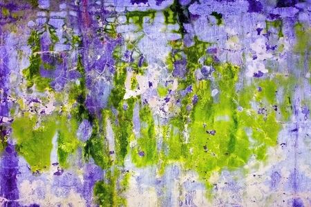 mustiness: Abstract acid background - a concrete wall with the mold stains Stock Photo