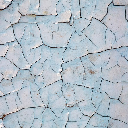 craquelure: The texture of craquelure - the old painted surface Stock Photo
