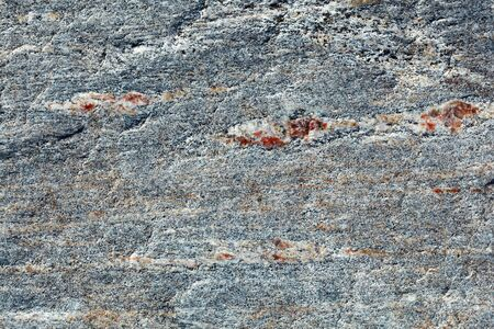untreated: The surface of untreated natural stone - granite Stock Photo