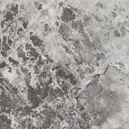 plaster mould: A square texture gray stone wall with spots