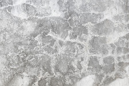 plaster mould: Grey plaster on the old cracked wall