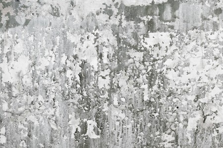 Grey old concrete wall with dirt stains - background Stock Photo - 7369445