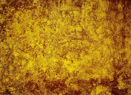 The vintage rough soiled grunge yellowy-brown background photo
