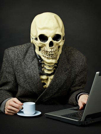 dreadful: Death walks the expanses of the Internet network