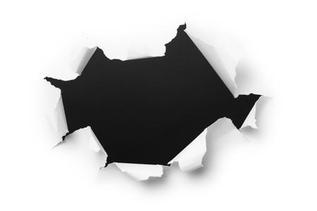 Agujero grande y oscuro en el white paper