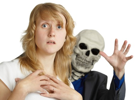 The approach of death is very terrible Stock Photo - 8029737