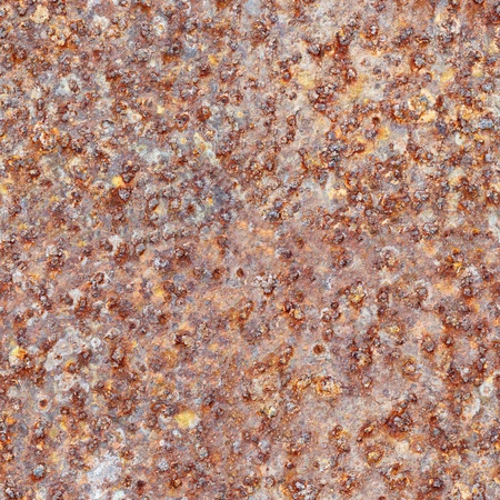 Seamless texture - a brown rusty surface of iron sheet Stock Photo - 8271766