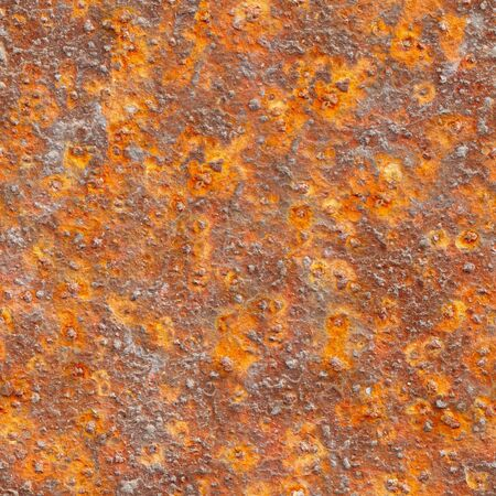 Seamless texture the metal surface with strong corrosion Stock Photo - 8337329