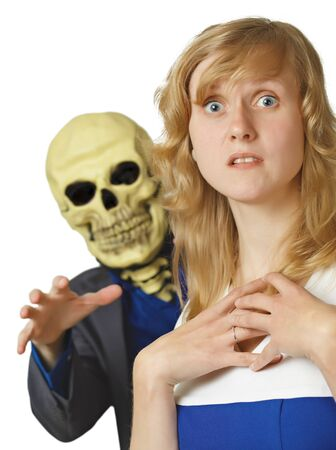 The terrible death came a young woman Stock Photo - 8650025