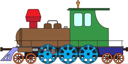 Locomotive Vector