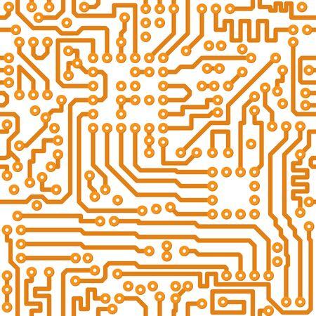 electronic elements: Senza soluzione di continuit� trama quadrata