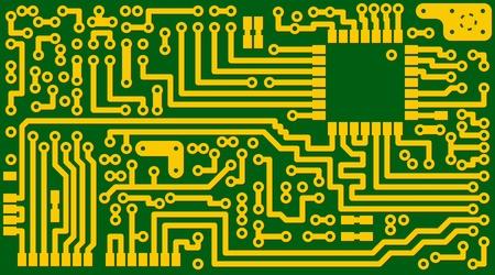circuitos electronicos: Tecnol�gico fondo verde electr�nica de la tarjeta