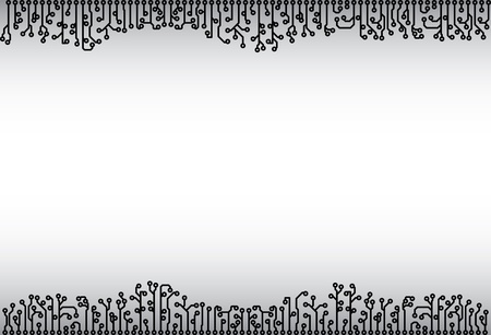 fantastical: Abstract background from electronic monochrome elements