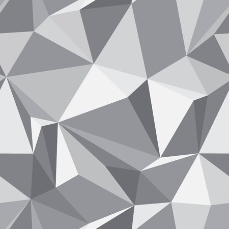 sides: Abstract seamless texture - gray background of the polygons vector eps8