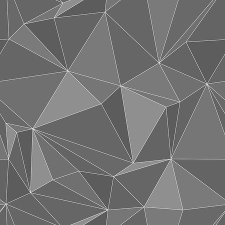 Seamless texture - an abstract blue background of the polygons vector eps8 Vector