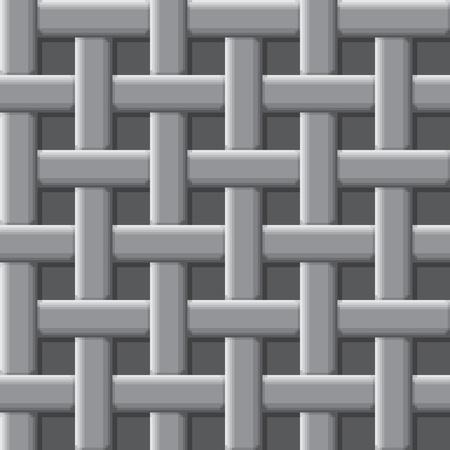 Interweaving lines - an abstract texture vector eps8 Stock Vector - 9361405