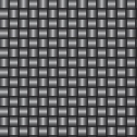 interlacing: Interlacing of gray tapes - an abstract structure vector eps8 Illustration