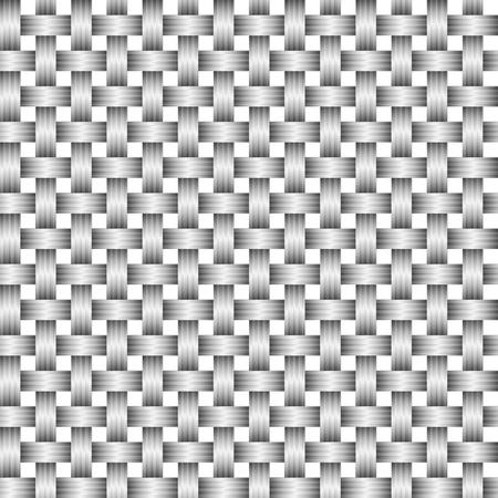 woven surface: Vector fondo abstracto - gris tejido superficial eps8
