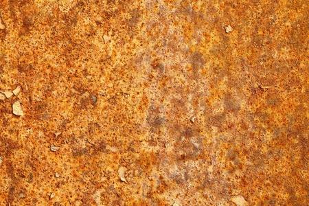 Het oppervlak van roestige plaatwerk - textuur