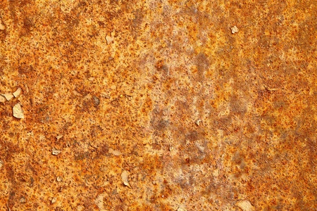 The surface of rusty sheet metal - texture photo