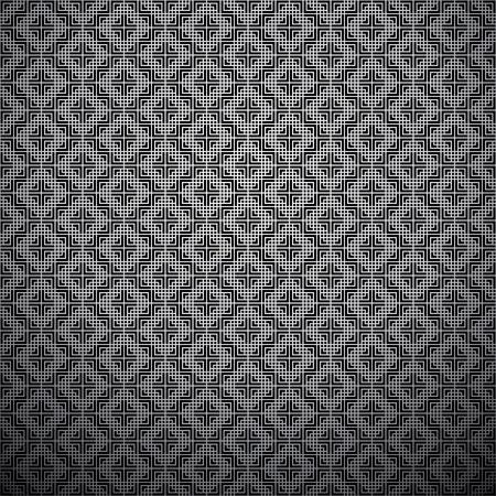 Graphic monochrome pattern Stock Vector - 10981424