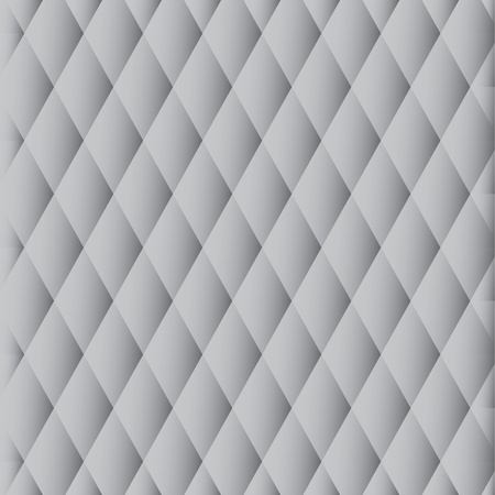 Abstract monochrome pattern of gray diamonds Vector