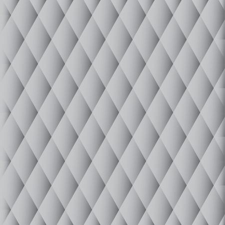 Abstracte zwart-wit patroon van de grijze diamanten