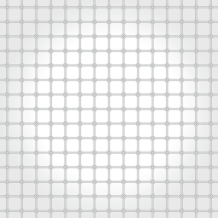 Monochrome pattern - a metal grating Vector