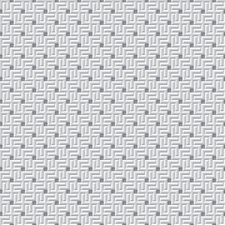 Seamless monochrome texture with swastikas Vector