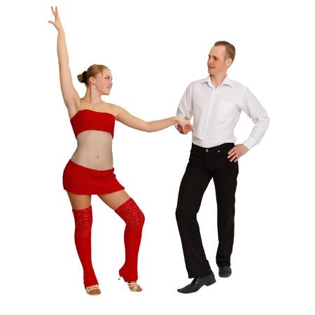 bailarin hombre: aisladas sobre fondo blanco