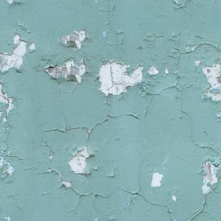 Die nahtlose Textur - alte geknackt blaue Farbe an der Wand Standard-Bild - 12295707