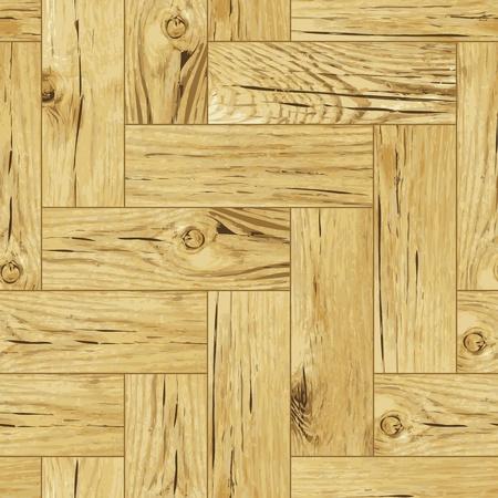 Classic wooden oak parquet flooring - seamless
