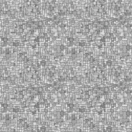Abstract seamless background - gray pattern Illustration