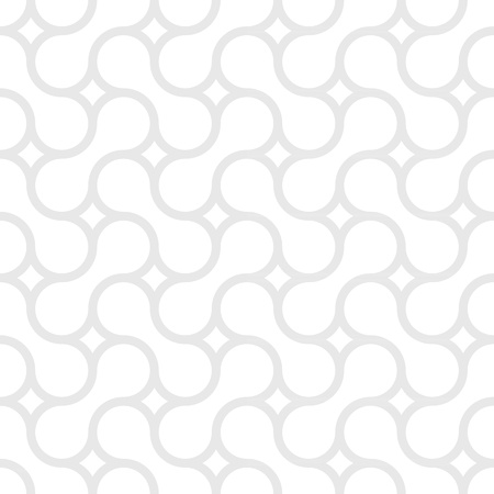Monochrome simple pattern of gray curved lines Illustration
