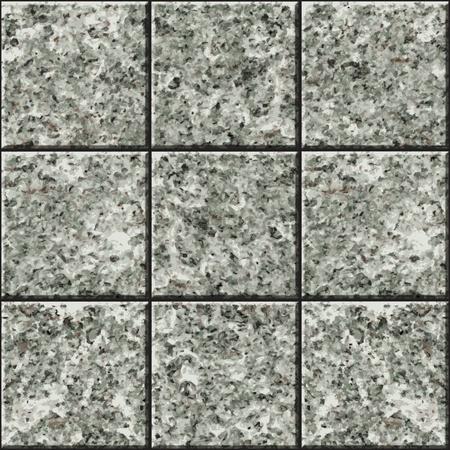 bad fliesen: Nahtlose Textur - eine Wand mit Steinplatten ausgekleidet Illustration