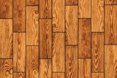Wooden flooring - a realistic background eps8 Illustration