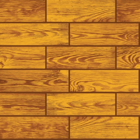 Seamless square texture - wooden floor Vector