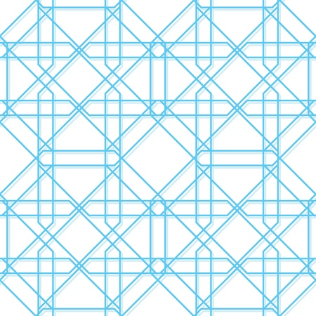 A simple geometric pattern  Vector