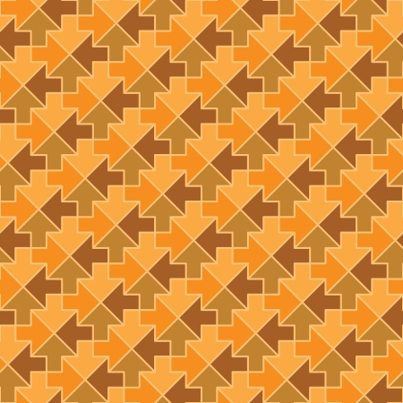 Seamless pattern - arrows in different directions Vector
