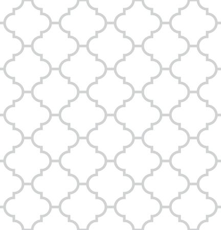 Simple geometric monochrome seamless pattern Illustration