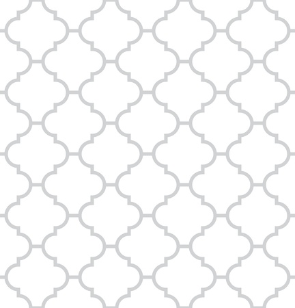 Simple geometric monochrome seamless pattern Vector
