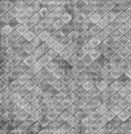 Monochrome square texture - the surface of the old roof photo