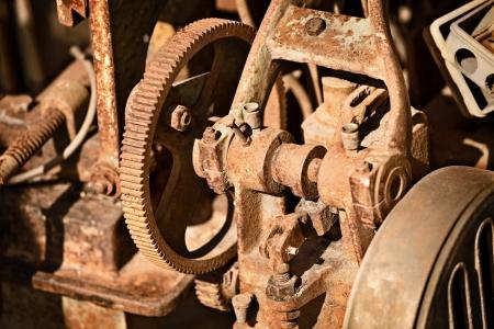 metallschrott: Rusty alten Mechanismus aus Metall - Metall-Schrott Lizenzfreie Bilder